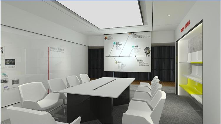 智能化现代办公室装修设计